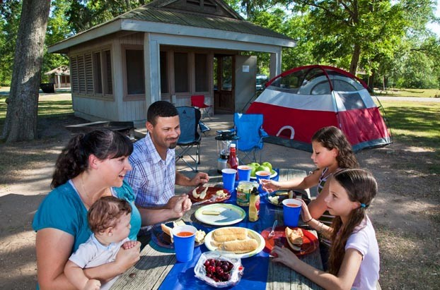 Family Camping - Texas State Parks