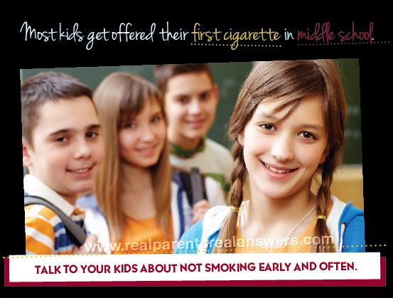 Encouraging Kids Not to Smoke