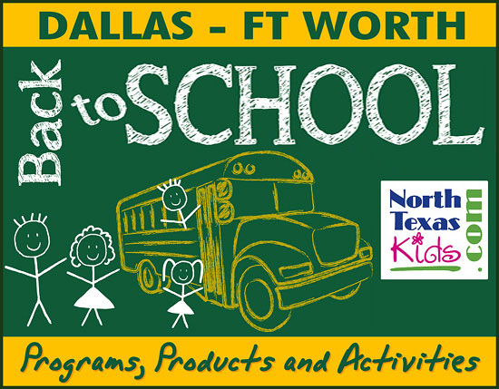 Back to School - Kid Friendly Programs, Products and Activities