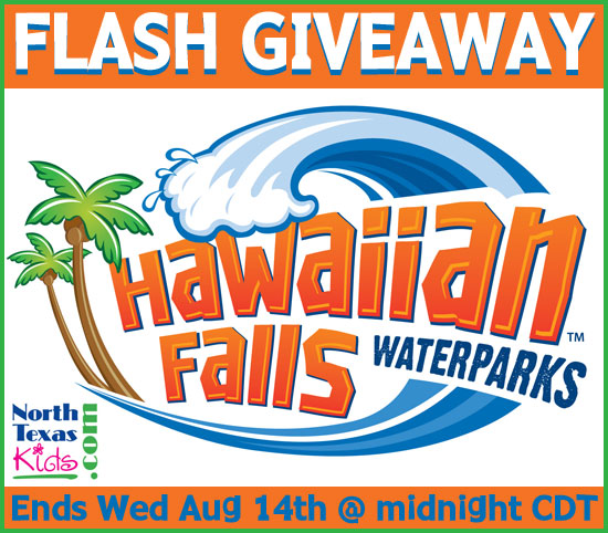 Hawaiian Falls Ticket Giveaway