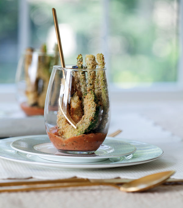 Parmesan Sticks with Creamy Marinara Sticks