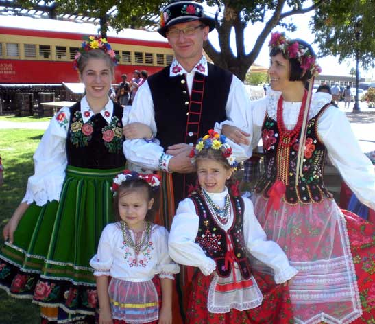 Plano International Festival - German Family
