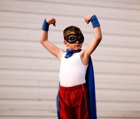 Nurturing Self Love in Kids - Boy Super Hero