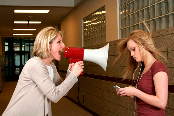 Yelling at Teens Doesn't Work