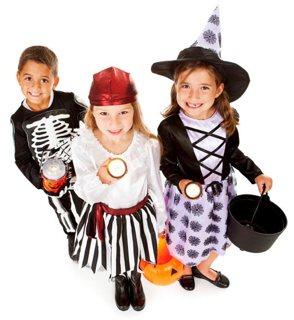 Healthy Halloween - Kids Trick or Treating