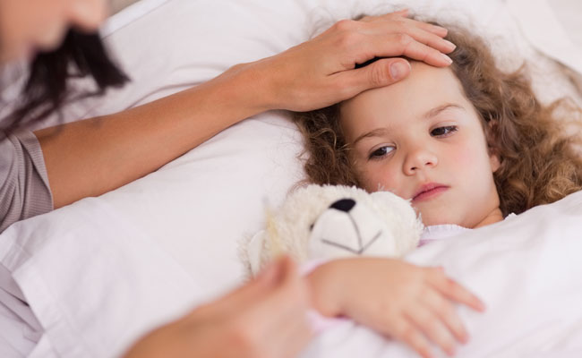 Sick Girl - Helping Young Kids Sleep When They are Sick