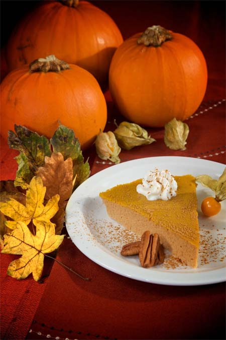 Light Pumpkin Pie Recipe