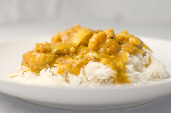 Curried Chicken & Cauliflower