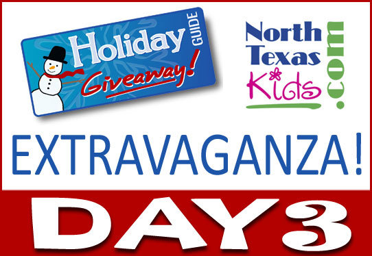 North Texas Kids Holiday Giveaway Extravaganza Day 3