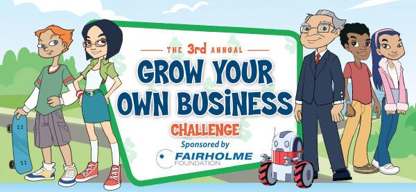 Grow Your Own Business Challenge for Kids - Secret Millionares Club