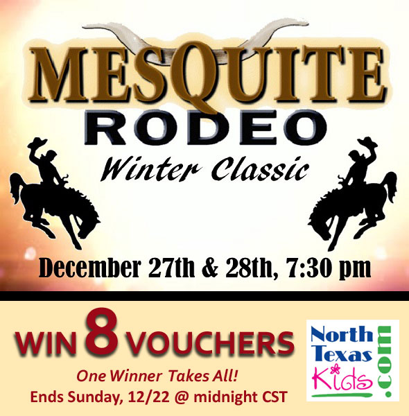 Mesquite Rodeo Winter Classic - Ticket Giveaway - North Texas Kids