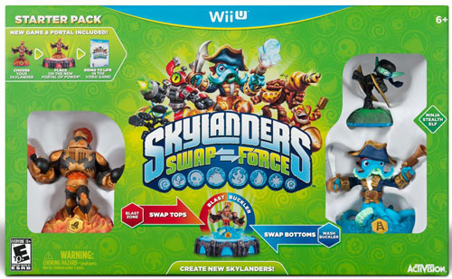 North Texas Kids Holiday Giveaway Extravaganza - Skylanders SWAP Force Starter Set