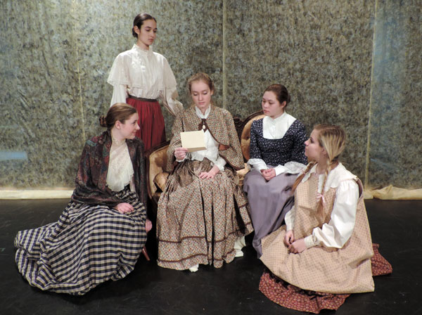 All Teen Cast Performs Little Women at Dallas Children's Theater