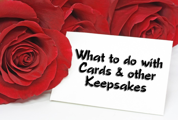 Ideas for Organizing Cards & Other Keepsakes