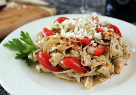 Sund Dried Tomato & Pesto Fettucini Made with Tofu