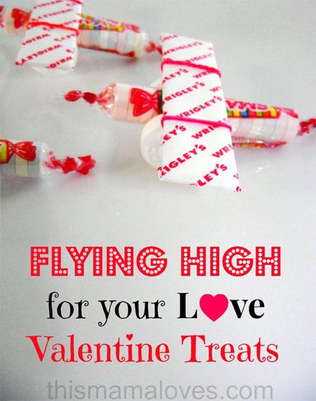 Classroom Valentines - Smarties Airplane