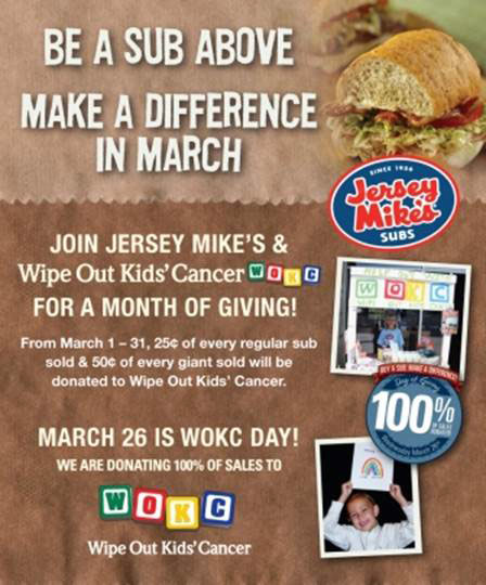 Wipe Out Kids Cancer