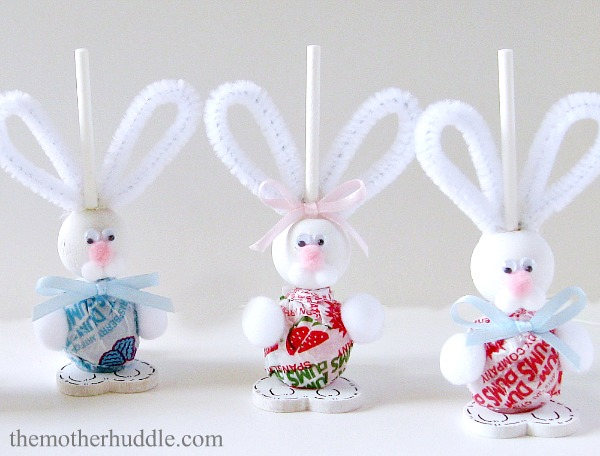 Bunny Lollipops - Easter Crafts - North Texas Kids Magazine - Kids Crafts