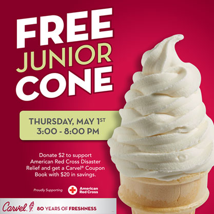Free Cone Thursday at Carvel