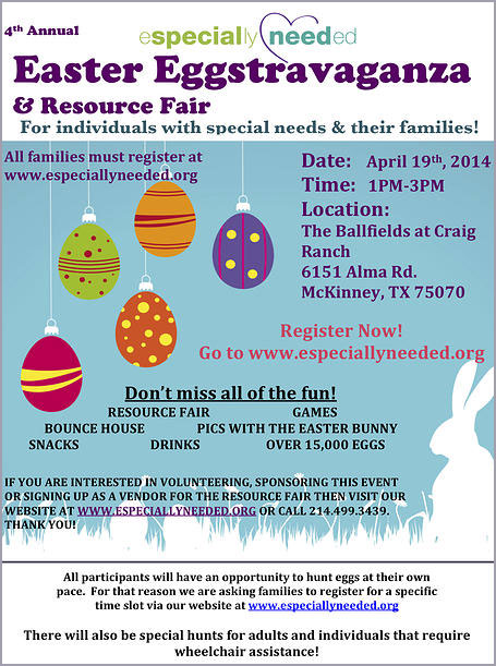Easter Eggstravaganza for Special Needs Families