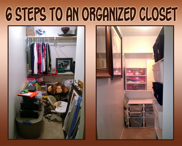 6 Steps to an Organized Closet