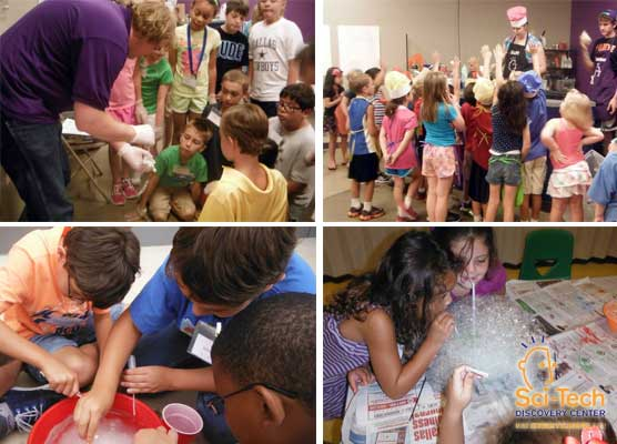 Summer Camps at Sci-Tech Discovery Center - North Texas Kids Summer Camps & Kids Activities Guide