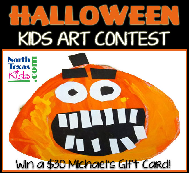 Halloween Kids Art Contest - North Texas Kids Magazine