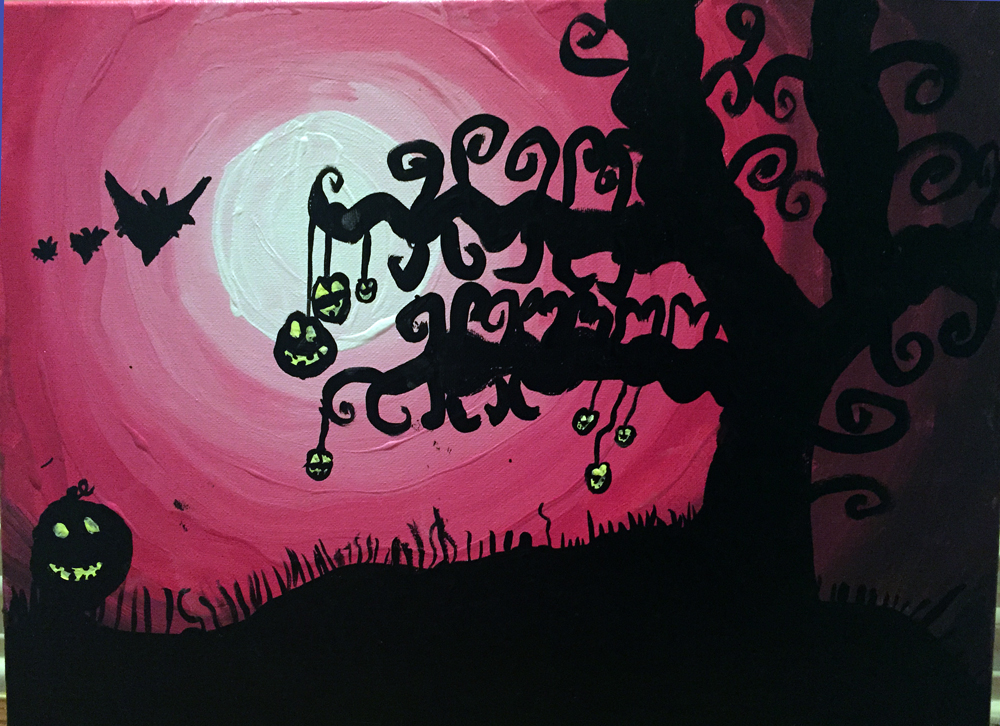 Spooky Halloween by Kerrigan Ellis-Smith age 7