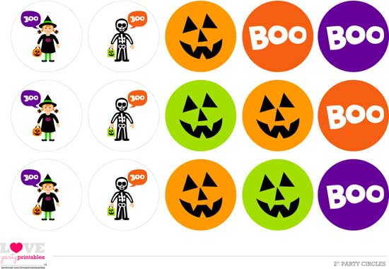 Halloween printables - party printables
