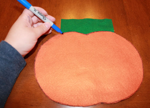 Pumpkin Craft Stem