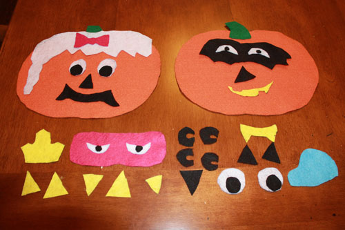 Felt Pumpkin Craft - Halloween Crafts - North Texas Kids Magazine