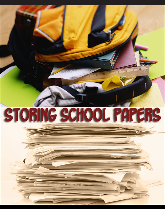Dedicated Storage for Kids School Papers - North Texas Kids Magazine
