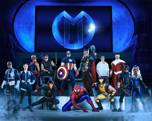 Marvel Universe Live Good Guys