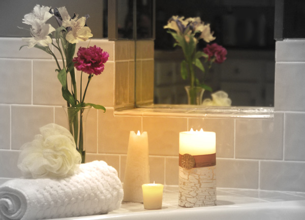 Organize a Bathroom to Keep the Romance Alive