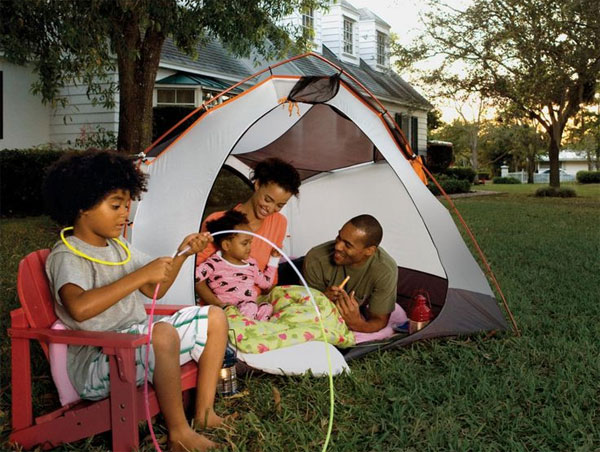Backyard Camping - Family Camping - Camping with Kids