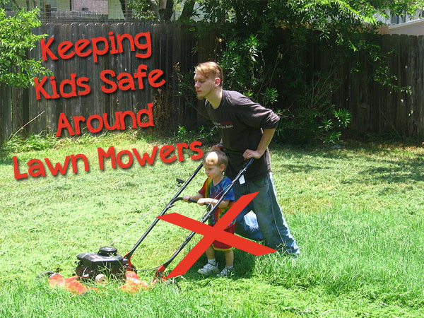 How to Keep Kids Safe Around Lawn Mowers