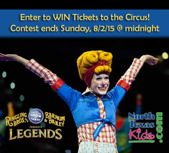 Circust Ticket Giveaway - Ringling Bros and Barnum & Bailey Circus - North Texas Kids Magazine
