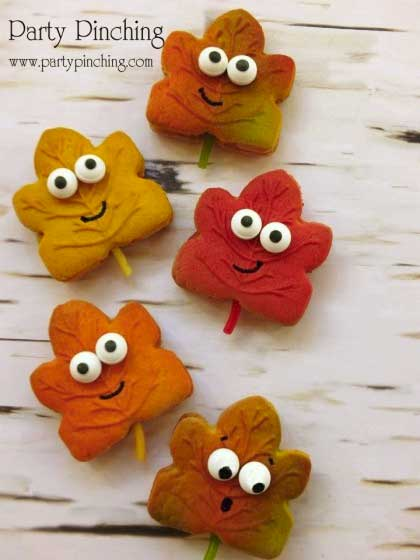 Autumn Leaf Cookies - Fall Treats - North Texas Kids Magazine