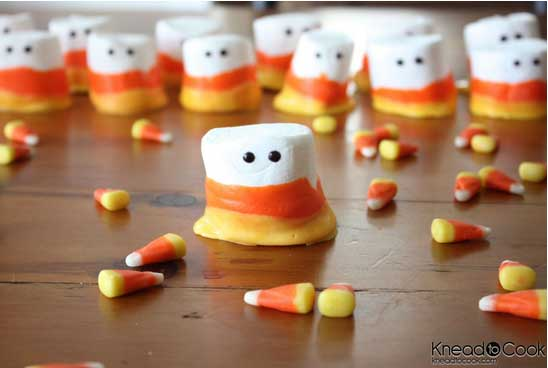 Fall Treats - Candy Corn People - North Texas Kids Magazine