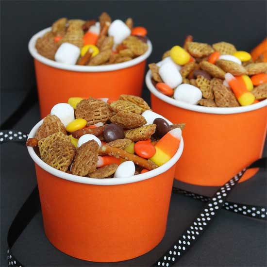 Fall Treats - fall trail mix - North Texas Kids Magazine