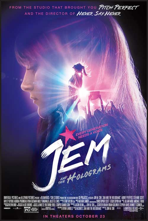 Jem and the Holograms - Ticket Contest - North Texas Kids Magazine