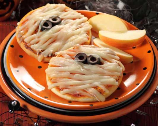 Halloween snacks - Pizza Mummies - North Texas Kids Magazine