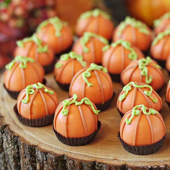 Pumpkin Bread Truffles - Fall Treats - North Texas Kids Magazine