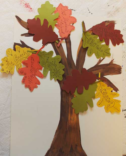 thanksgiving craft for kids a gratitude tree north texas kids