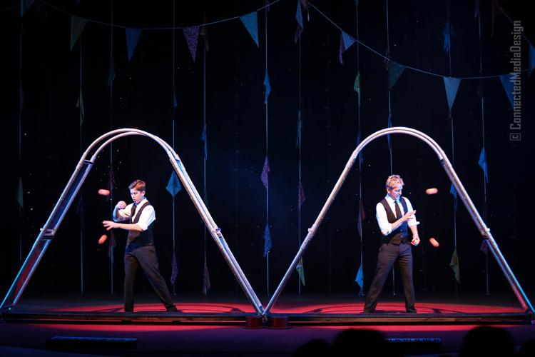 Juggler - Rejean St. Jules - Sebastian St. Jules - Lone Star Circus - Zingari - Mina Frannea