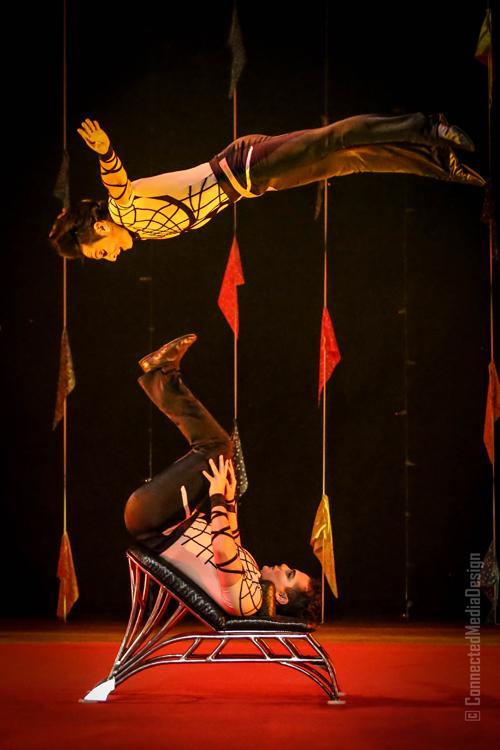 Risley Act - Anton Brothers - Lone Star Circus - Zingari - Mina Frannea