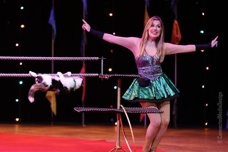 Cat Act - Mayya Panfilova - Lone Star Circus - Zingari - Mina Frannea