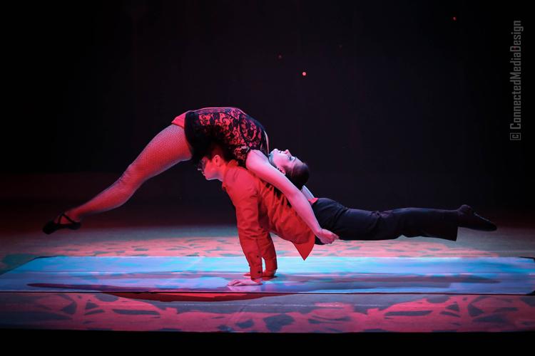 Hand Balancing - Duo Resonance - Lone Star Circus - Zingari - Mina Frannea