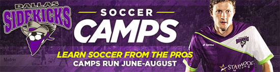 Dallas Sidekicks Summer Camps