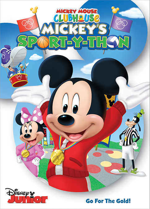 Mickey's Sport-y-Thon DVD Giveaway - North Texas Kids Magazine